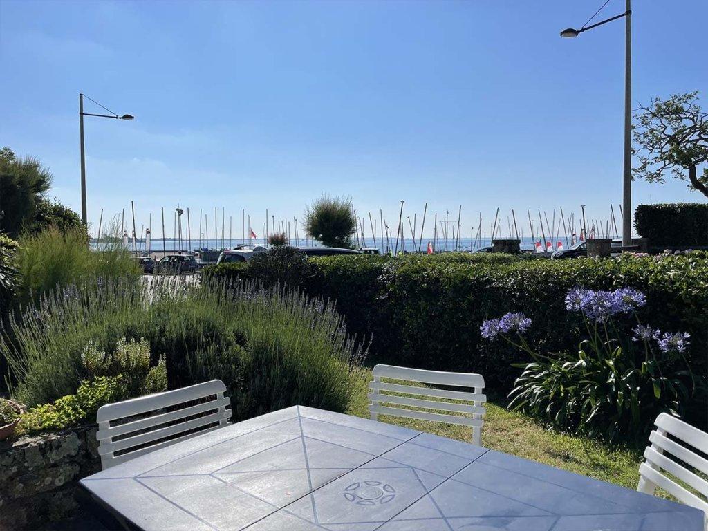 Carnac plage, maison vue mer proche legenese