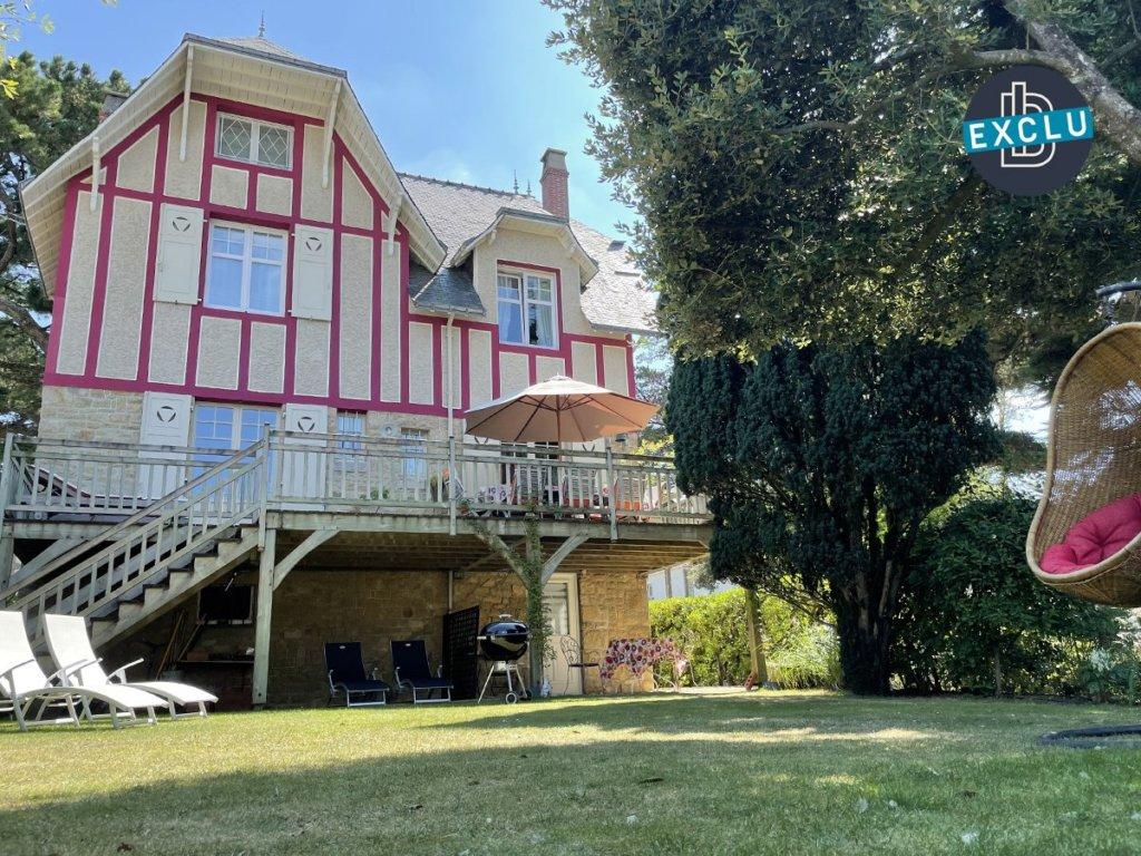 Exclusivite carnac plage magnifique villa des annees 30